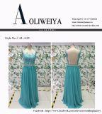Aoliweiyaのシフォンが付いている卸し売り高品質のプロムの服