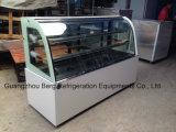 Refrigerador comercial aprovado Ce do indicador do bolo