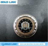 Jeton de cadeau de promotion de pièce de monnaie d'enjeu de souvenir de course de pièce de monnaie en métal