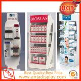 Cabina de visualización cosmética portable de mercancía para las tiendas al por menor
