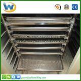 Máquina vegetal industrial do secador da máquina de secagem da fruta do alimento de peixes frescos