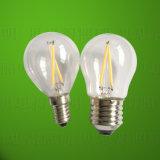 luz de bulbo del filamento LED de 2W 4W 6W 8W
