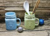 Esmalte dulce del color de la venta caliente taza de 12 onzas