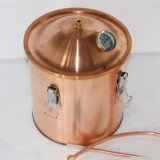 Destilador de cobre rojo de Kingsunshine 10L/3gal enteramente, Rose/lavanda/equipo de la destilación del hidrosol de la manzanilla
