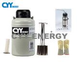 Hochfeste Legierungs-Zelle 3 L flüssiger Stickstoff-Becken/kälteerzeugender Behälter