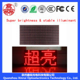 Singolo colore della visualizzazione rossa del modulo dello schermo di P10 LED