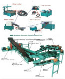 Überschüssiges Gummireifen-Wiederverwertungs-System (Gummipuder-Produktionszweig)