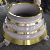 Il frantoio del cono dell'OEM risparmia la fodera della ciotola del manto per Metso CS420 CS430 CS440