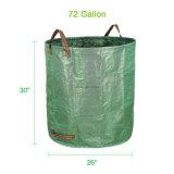72 gallons de perte de jardin met en sac les sacs de jardinage lourds de Reuseable de sac de jardin, sac de perte de lame de jardin de syndicat de prix ferme de pelouse