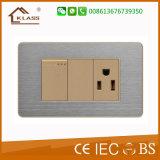 Prise murale USB en acier inoxydable à grande demande