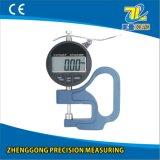 calibre de espessura azul de Digitas do punho de 0-12.7/0.01mm