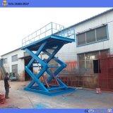 Tavol 2.5t stationäre 8m Scissor Aufzug-Plattform