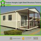 Einfaches Installations-modulares modernes lebendes Behälter-Haus-vorfabriziertes Haus
