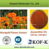Zeaxanthin van het Poeder van het Uittreksel van de Bloem van de goudsbloem 5% HPLC