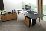 Neue moderne Art-kommerzieller hölzerner Schreibtisch (V9)