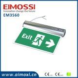 Cer-Emergency Ni-CD Batterie-nachladbares Ausgangs-Licht
