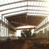 Construction préfabriquée d'atelier de structure métallique de Multi-Étage à vendre