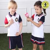 Uniforme de l'école primaire des enfants nouvellement conçu pour l'été