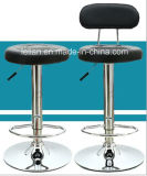 Tamborete de barra confortável do casino do couro do giro (LL-BC043)