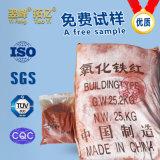 Het industriële Pigment van het Oxyde van het Ijzer van de Rang Rode, Anorganische voor Ceramisch, het Met een laag bedekken, het Afdrukken, het Schilderen, Inkt, Bouwmateriaal en Rubber, enz.