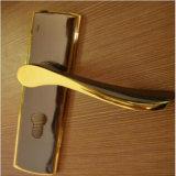 Porte neuve de PVC de modèle avec le guichet en verre