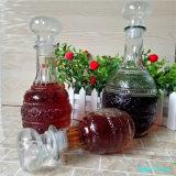 Tampas de vidro estocadas 250ml 500ml 950ml do vidro de frascos do vinho
