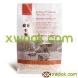 Tipo stampato sacchetti della parte inferiore piana dell'alimento con la parte superiore della chiusura lampo