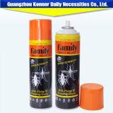 Jet puissant et intense 400ml d'insecticide d'aérosol de tueur de moustique