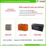 Bateria profunda do AGM do ciclo de Cspower 12V 4ah para UPS, brinquedo eletrônico