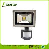 방수 10W-200W 찬 백색 옥외 LED 플러드 빛