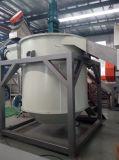 A lavagem de frasco do HDPE que recicl esmagando o frasco de leite da planta recicl a linha