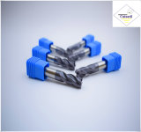 Cutoutil  4本の歯35° 螺旋形の切口の鋼鉄D16 45*100*16 固体炭化物の端製造所のツール