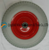 Roda da espuma do plutônio 16*6.50-8/650-8 para a roda do carro da ferramenta de jardim