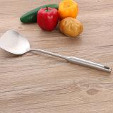 уполовник супа плоский Turner вспомогательного оборудования кухни Cookware нержавеющей стали утварей кухни 5PCS