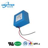 paquete 18.5V13ah de la batería del ion 18650lithium para el cortacéspedes de césped