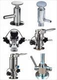 Operação manual e pneumática Válvulas de amostragem de soldagem asséptica
