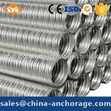 Трубопровод металла структуры конструкций себестоимоста Corrugated
