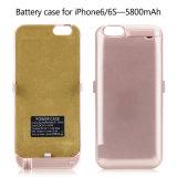 Кожух батареи внешней силы портативного заряжателя перезаряжаемые для iPhone 7/7plus