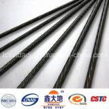 De voorgespannen Concrete Draad van het Staal met Spiraal (GB/T5223-2014, 4mm12mm, 1470MPa-1860MPa)