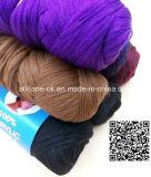Polyester-Acryl, das Nigeria-Wolle-Perücke-Haar-Garn mit der Hand strickend spinnt