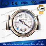 """50mm 2 """" U 죔쇠 유형 진공 압력 측정하 일반적인 압력 계기"""