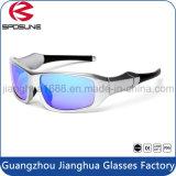 Eigenmarken-Mann-Spiegel-Sonnenbrille-Fabrik Großverkauf polarisiertes Eyewear Fahrrad, das Sport-im Freienschutzbrillen fährt