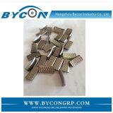 Segment en pierre de diamant de Bycon pour le segment de morceau de foret de faisceau
