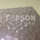 가정 장식을%s Topson 장식적인 스테인리스 장에 의하여 돋을새김되는 리넨 색깔