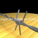 Горяч-Окунутый гальванизированный колючий провод утюга