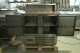 Equipo de cocina Saladette Nevera con Gabinete-PS900