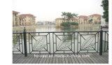 Barandilla de acero galvanizada decorativa de alta calidad 26 del balcón de la aleación de Haohan Alluminum