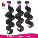 Человеческие волосы бразильянина норки Remy девственницы естественные