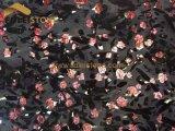 Роскошный рубиновый гранит Бразилии сляба гранита Brown