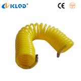 Tubo espiral de nylon del plástico 4m m del poliuretano de la PU